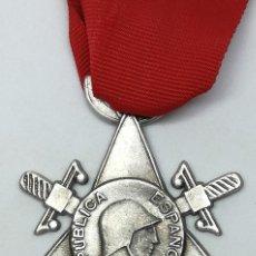 Militaria: RÉPLICA MEDALLA COMBATIENTE BRIGADAS INTERNACIONALES. REPÚBLICA. GUERRA CIVIL ESPAÑOLA. 1936-1939. Lote 208402097