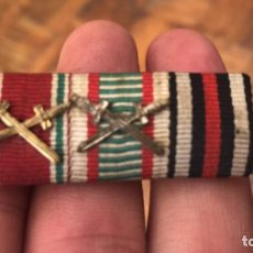Militaria: PRECIOSO PASADOR DE MEDALLAS ALEMAN Y ORIGINAL. Lote 209241932