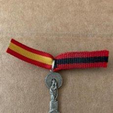 Militaria: ANTIGUA MEDALLA DE LA VIRGEN DEL PILAR/FALANGE ESPAÑOLA. Lote 209317881