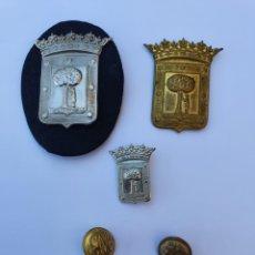 Militaria: EMBLEMAS DE POLICÍA MUNICIPAL DE MADRID. Lote 209385676