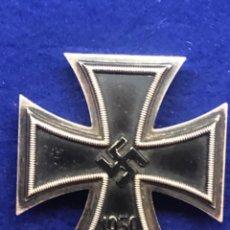 Militaria: MEDALLA ALEMANA ORIGINAL, CRUZ DE HIERRO DE PRIMERA CLASE, TERCER REICH. Lote 209691726