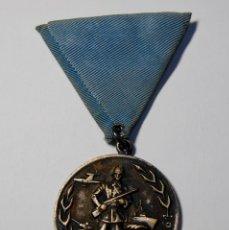 Militaria: MEDALLA DE YUGOESLAVIA DE 1961.20 AÑOS DE ENTRADA EN LA SEGUNDA GUERRA MUNDIAL. Lote 209758453