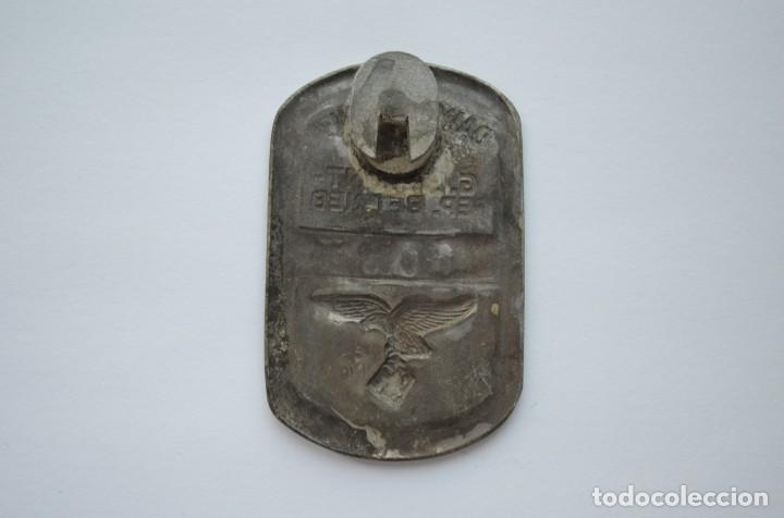 Militaria: WWII German badge Daimler-Benz G.L. Front-Rep. Betrieb Luftwaffe - Foto 2 - 228069710
