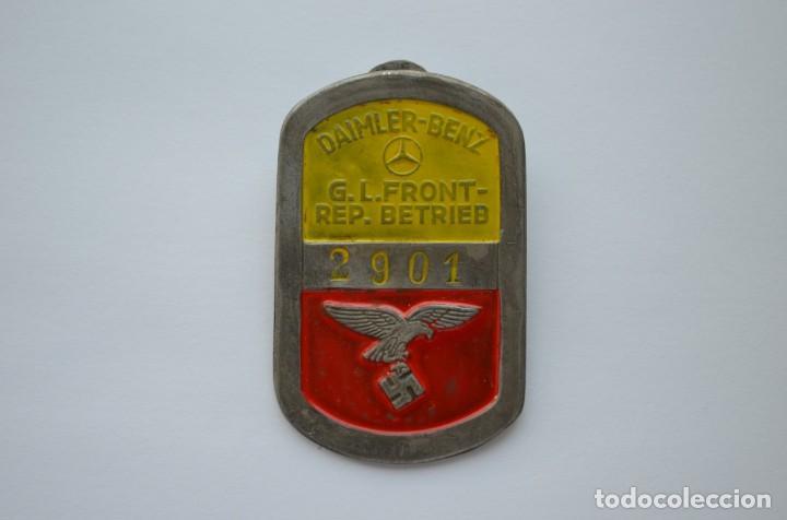 WWII GERMAN BADGE DAIMLER-BENZ G.L. FRONT-REP. BETRIEB LUFTWAFFE (Militar - Reproducciones y Réplicas de Medallas )