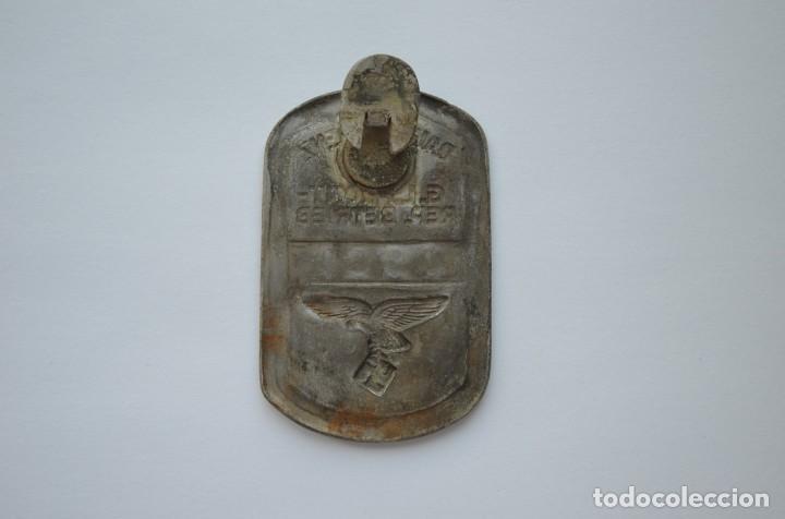 Militaria: WWII German badge Daimler-Benz G.L. Front-Rep. Betrieb Luftwaffe - Foto 2 - 228069715