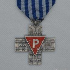 Militaria: AUSCHWITZ CROSS PRL. Lote 218645332