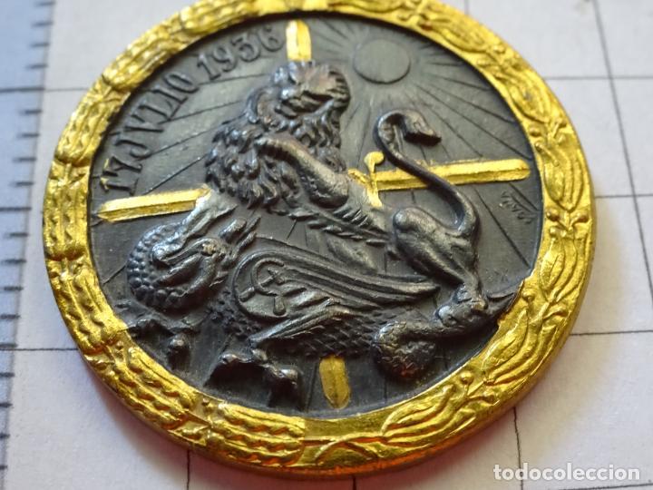Militaria: MEDALLA MILITAR. CAMPAÑA GUERRA CIVIL 1936-1939. MODELO VANGUARDIA. MARCAJE INDUSTRIAS EGAÑA. - Foto 4 - 210022611