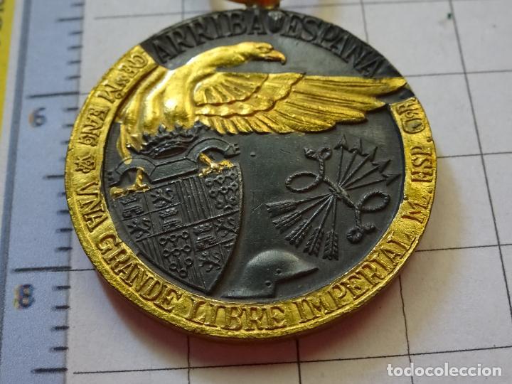 Militaria: MEDALLA MILITAR. CAMPAÑA GUERRA CIVIL 1936-1939. MODELO VANGUARDIA. MARCAJE INDUSTRIAS EGAÑA. - Foto 6 - 210022611