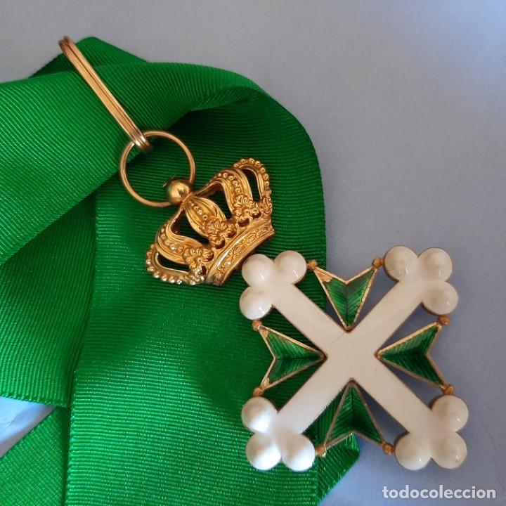 ORDEN ITALIANA DE SAN MAURICIO Y LAZARO (Militar - Medallas Extranjeras Originales)