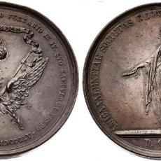 Militaria: MEDALLA IV CENTENARIO DE SAN VICENTE FERRER 1855 EBC. Lote 210304340
