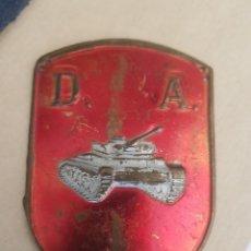 Militaria: PLACA METALICA DIVISION ACORAZADA. Lote 210318890