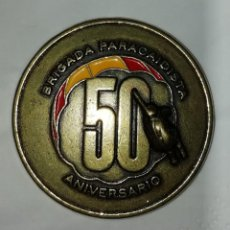 Militaria: MEDALLA 50 ANIVERSARIO BRIGADA ANTIAÉREA METAL Y ESMALTE. Lote 210364443