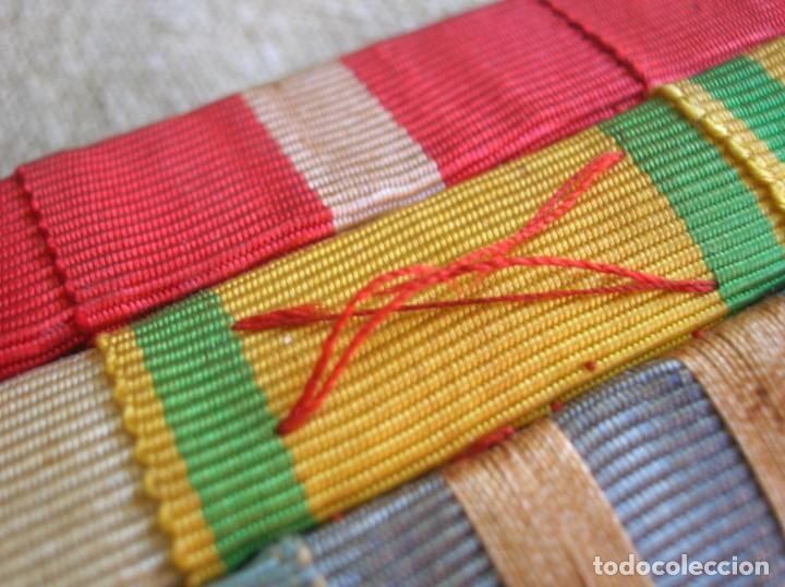 Militaria: MUY BELLO Y ANTIGUO PASADOR PARA UNIFORME DE DIARIO. PERTENECIÓ A UN GENERAL. - Foto 3 - 210461120
