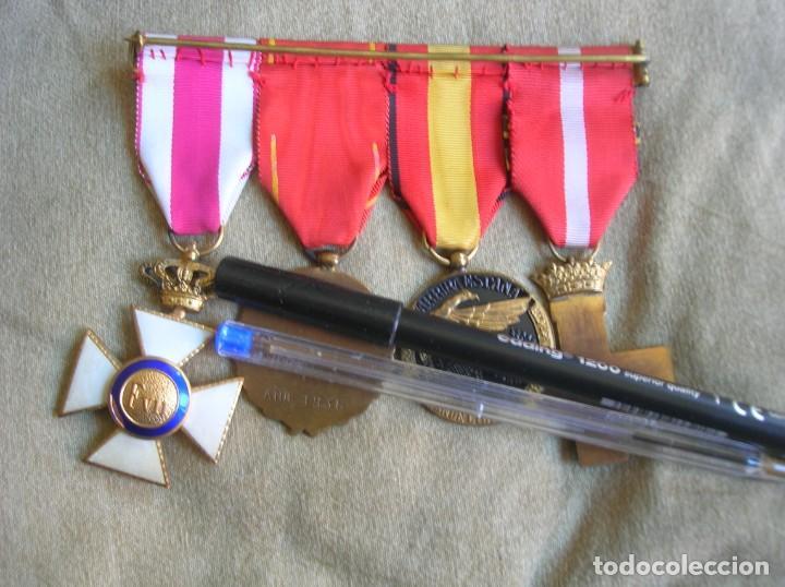 Militaria: PASADORES ORIGINALES DE UN DIVISIONARIO. DIVISION ESPAÑOLA DE VOLUNTARIOS. DIVISION AZUL. - Foto 6 - 210470286