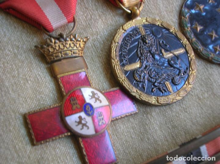 Militaria: PASADORES ORIGINALES DE UN DIVISIONARIO. DIVISION ESPAÑOLA DE VOLUNTARIOS. DIVISION AZUL. - Foto 10 - 210470286
