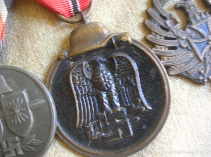 Militaria: PASADORES ORIGINALES DE UN DIVISIONARIO. DIVISION ESPAÑOLA DE VOLUNTARIOS. DIVISION AZUL. - Foto 15 - 210470286