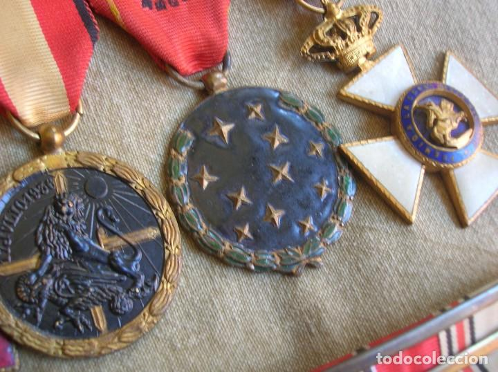 Militaria: PASADORES ORIGINALES DE UN DIVISIONARIO. DIVISION ESPAÑOLA DE VOLUNTARIOS. DIVISION AZUL. - Foto 16 - 210470286
