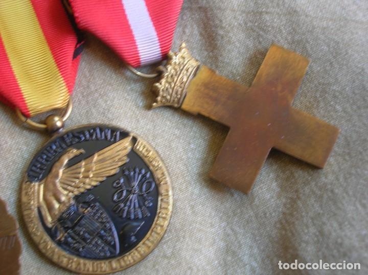 Militaria: PASADORES ORIGINALES DE UN DIVISIONARIO. DIVISION ESPAÑOLA DE VOLUNTARIOS. DIVISION AZUL. - Foto 18 - 210470286