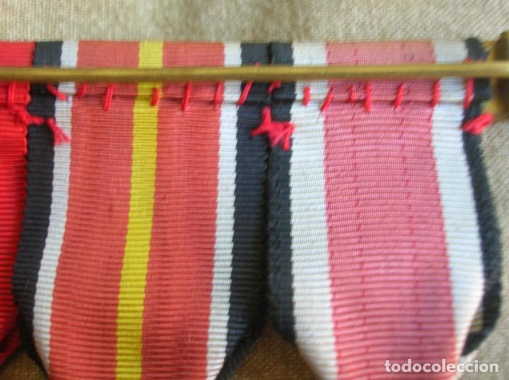 Militaria: PASADORES ORIGINALES DE UN DIVISIONARIO. DIVISION ESPAÑOLA DE VOLUNTARIOS. DIVISION AZUL. - Foto 20 - 210470286