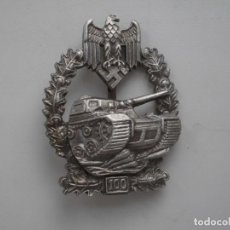Militaria: WWII THE GERMAN BADGE PANZER ASSAULT 100. Lote 210520741