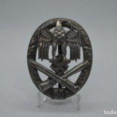 Militaria: WWII THE GERMAN BADGE GENERAL ASSAULT 50. Lote 210524777