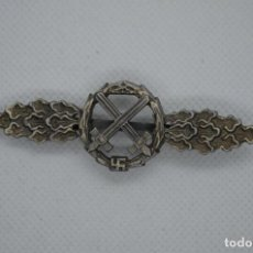 Militaria: WWII THE GERMAN AIR TO GROUND SUPPORT SQUADRON CLASP. Lote 210525212