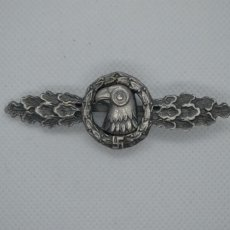Militaria: WWII THE GERMAN LUFTWAFFE RECONNAISSANCE CLASP. Lote 210525508