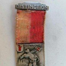 Militaria: MEDALLA SUIZA, DISTINCTION, 5ª TIR JURASSIEN - TRAMELAN, AÑO 1936, HUGUENIN LOCLE. Lote 210623462