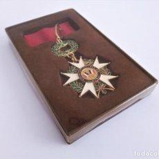 Militaria: RÉPLICA MEDALLA DE OFICIAL DE LEGIÓN DE HONOR DE LA REPÚBLICA FRANCESA HONNEUR ET PATRIE 1870. Lote 210765494