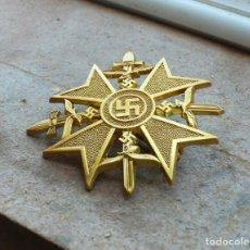 Militaria: CRUZ ESPAÑOLA DE ORO CON ESPADAS.TERCER REICH. Lote 210966085