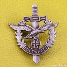 Militaria: INSIGNIA DE LUFTWAFFE NAZI, PIN ESMALTAFO ALTA CALIDAD. Lote 210983399