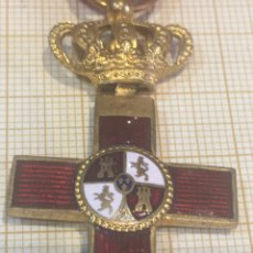Militaria: MEDALLA TAMAÑO PRINCESA ALFONSO XIII MÉRITO ROJO. Lote 211260051