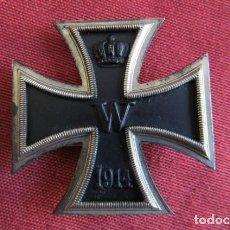 Militaria: MEDALLA CONDECORACIÓN ALEMANA CRUZ DE HIERRO DE I PRIMERA CLASE 1914 VERSIÓN 1939 HECHA EN 3 PIEZAS. Lote 211414646