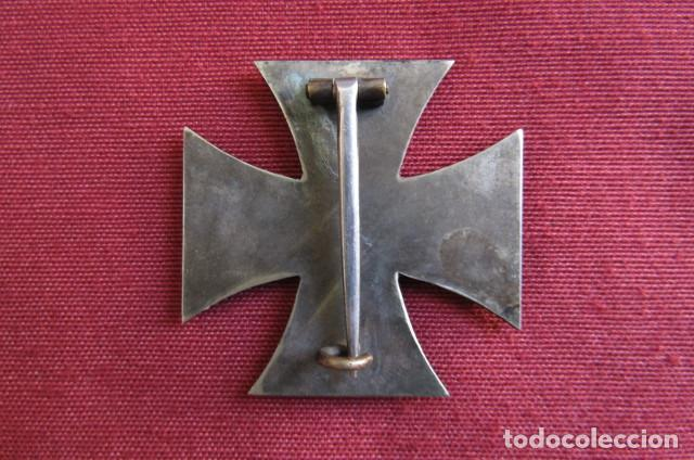 Militaria: Medalla condecoración alemana Cruz de Hierro de I Primera clase 1914 versión 1939 hecha en 3 piezas - Foto 3 - 211912040