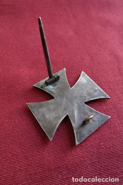 Militaria: Medalla condecoración alemana Cruz de Hierro de I Primera clase 1914 versión 1939 hecha en 3 piezas - Foto 5 - 211912040