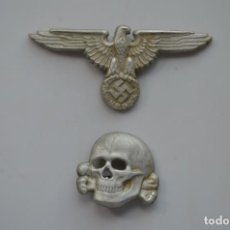 Militaria: WWII THE GERMAN BADGES CAP WAFFEN SS. Lote 254771165
