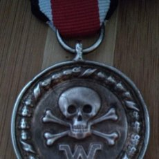 Militaria: INTERESANTE MEDALLA ALEMANIA NAZI III REICH DIVISIONES DE COMBATE CALAVERA 2ªG.M DE LAS WAFFEN SS. Lote 212632095