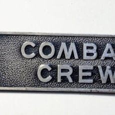 Militaria: INSIGNIA DE PLATA.TRIPULACIONES COMBATE FUERZA AÉREA U.S.A.GUERRA DE VIETNAM. Lote 212640465