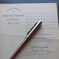 Militaria: CONCESIÓN CRUZ SAN HERMENEGILDO. ACADEMIA DE INFANTERÍA. 1919. MMI. Lote 212676830