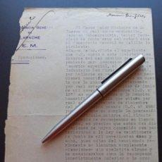 Militaria: MENCIONES HONORÍFICAS. COMANDANCIA GENERAL DE LARACHE. 1922. MMI. Lote 212677286