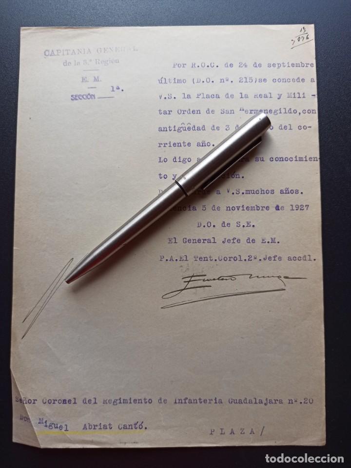 CONCESIÓN PLACA ORDEN DE SAN HERMENEGILDO.1927. MMI (Militar - Medallas Españolas Originales )