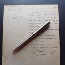 Militaria: CONCESIÓN PLACA ORDEN DE SAN HERMENEGILDO.1927. MMI. Lote 212743183