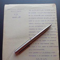 Militaria: CONCESIÓN CRUZ MÉRITO MILITAR ROJA. 1927.. Lote 212743775