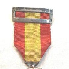 Militaria: MEDALLA INSTITUTO NACIONAL DE PREVISIÓN AÑO 1908. PLATA DE LEY. Lote 213254188