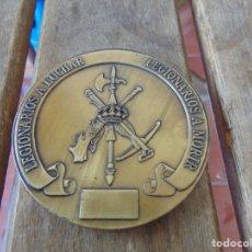 Militaria: MEDALLA LEGIONARIOS A MORIR LEGIONARIOS A LUCHAR LA LEGION ESPAÑOLA. Lote 213541506