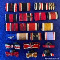 Militaria: COLECCIÓN DE PASADORES ALEMANES TERCER REÍCH, DIVERSAS CONDECORACIONES. Lote 213590756