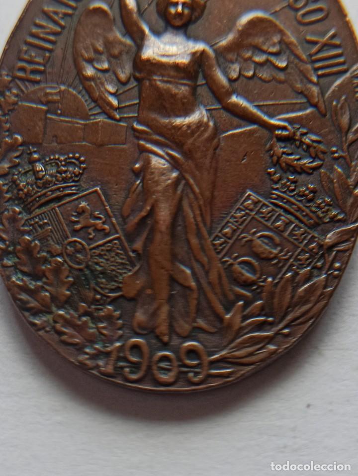 Militaria: Medalla de la Campaña del Rif. 1909. Medina. - Foto 5 - 213603178