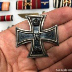 Militaria: CRUZ DE HIERRO PRIMERA CLASE WWI FABRICANTE OK. Lote 213718411