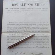 Militaria: CONCESIÓN MEDALLA MÉRITO MILITAR. FILIPINAS. 1898. VEA OTROS ARTÍCULOS DEL MISMO MILITAR. Lote 213998657