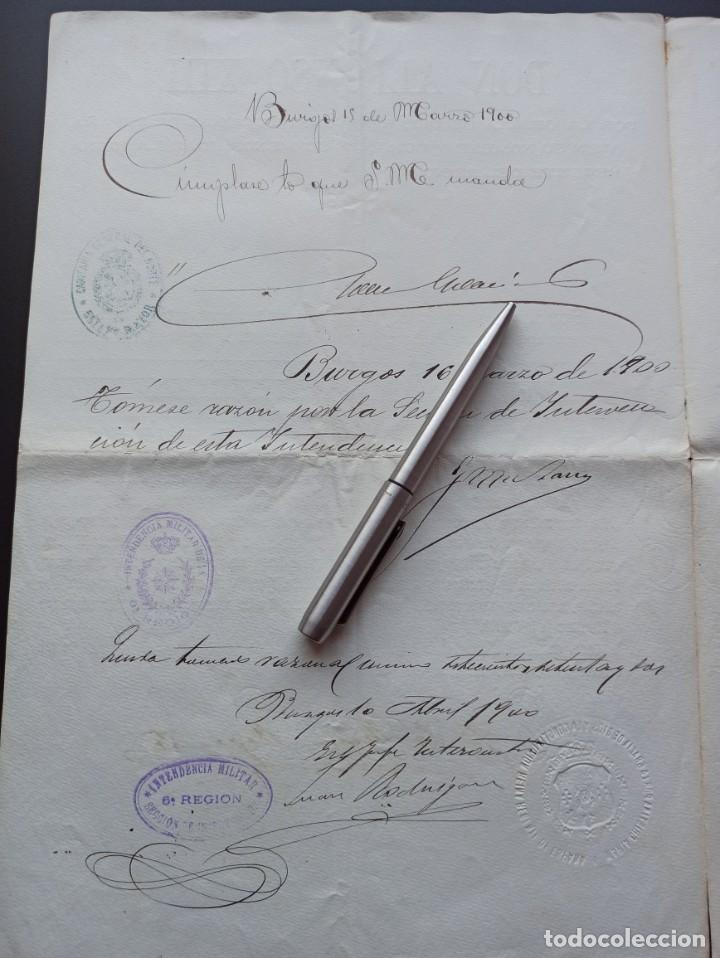 Militaria: Concesión Medalla Mérito Militar. Filipinas. 1898. Vea otros artículos del mismo militar - Foto 4 - 213998657